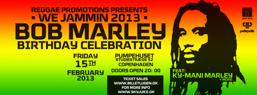 Bob Marley Birthday Celebration, Kymani Marley (Bob Marley Son) Live, the 15th February 2013